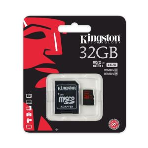 KINGSTON 32GB MICRO SDHC CLASS 10 HAFIZA KARTI (90/80 MB/s)
