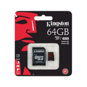 KINGSTON 64GB MICRO SDHC CLASS 10 HAFIZA KARTI (90/80 MB/s)