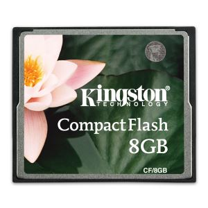 KINGSTON 8GB COMPACT FLASH HAFIZA KARTI