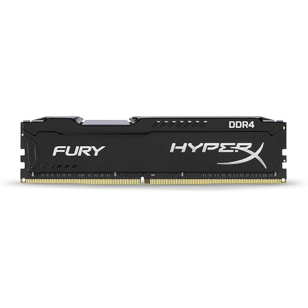 Kingston 8GB Hyperx Fury Black DDR4 2400 MHz CL15 PC Ram