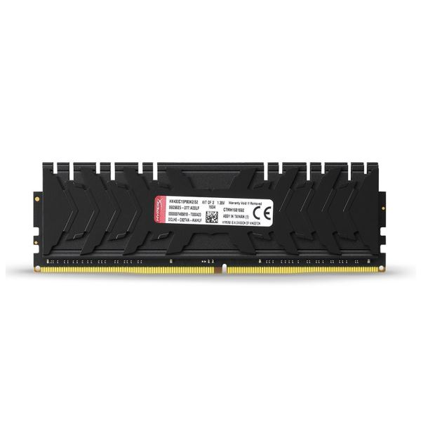 Kingston 32GB (2x16GB) HyperX Predator Black DDR4 3000MHz CL15 1.35V XMP Ram