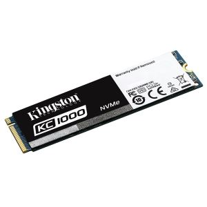 Kingston 240GB KC1000 Serisi M.2 Sata NVMe SSD (Okuma 2700MB / Yazma 900MB)