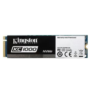 Kingston 960GB KC1000 Serisi M.2 Sata NVMe SSD (Okuma 2700MB / Yazma 1600MB)