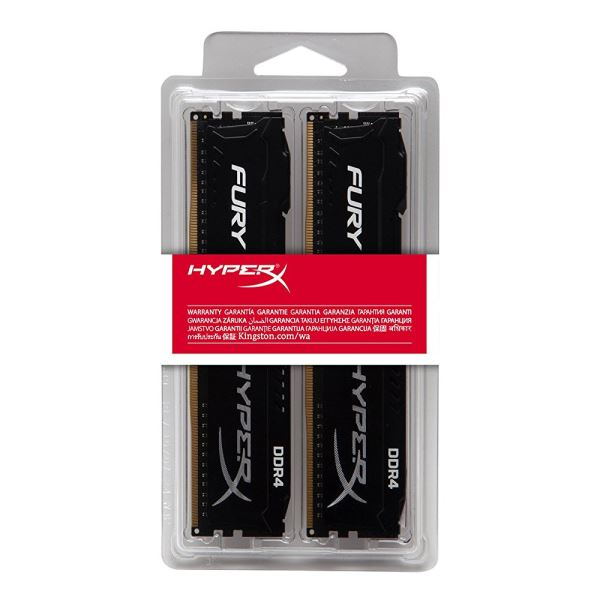 Kingston 16GB (2x8GB) HyperX FURY Black DDR4 3466MHz CL19 1.2V Dual Kit Ram