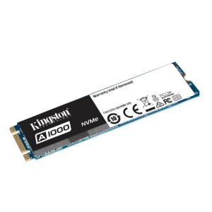 Kingston 240GB A1000 Serisi NVMe M.2 SSD (Okuma 1500MB / Yazma 1000MB)