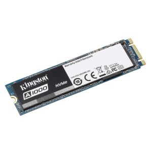 Kingston 960GB A1000 Serisi NVMe M.2 SSD (Okuma 1500MB / Yazma 1000MB)