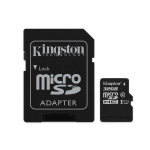 KINGSTON 32GB MICROSDHC CANVAS SELECT UHS1 ADAPTÖRLÜ HAFIZA KARTI(80MB/S-10MB/S)