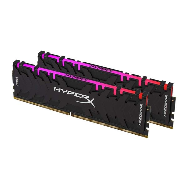 Kingston 16GB (2x8GB) HyperX Predator RGB DDR4 3200MHz CL16 1.2V XMP Ram