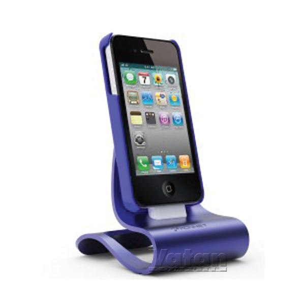 KN-8289 iCrado PLUS IPHONE 4/4S DOCK STATION- (MOR)