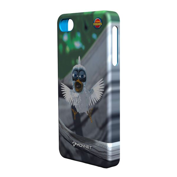 KN-5722 HARDJAC GRAFFİTO IPHONE 4/4S KILIF- (LARRY)