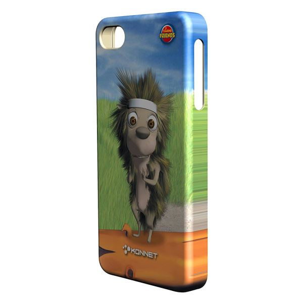 KN-5724 HARDJAC GRAFFİTO IPHONE 4/4S KILIF- (HARRY)