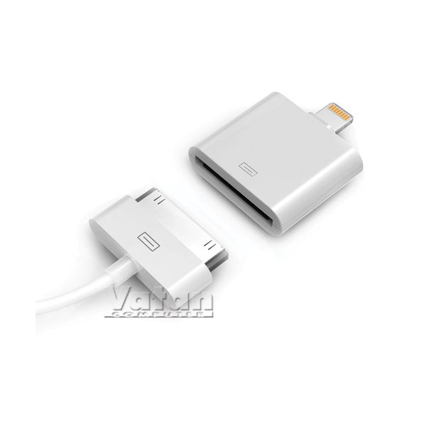 IPHONE 5/ IPAD MİNİ VE IPAD 4 İÇİN ADAPTÖR- BEYAZ