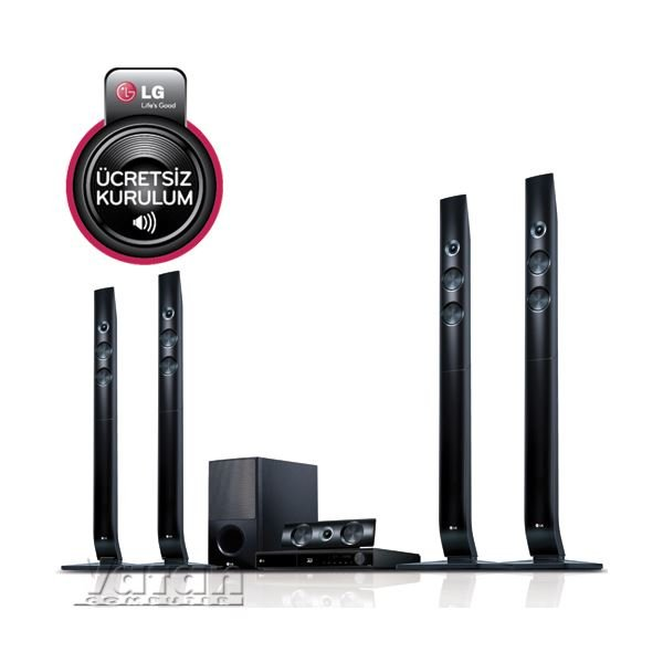 LG HB1100RE 3D FULL HD BLURAY EV SİNEMA SİSTEMİ,1100W, 5+1, HDMI, USB, MKV, DLNA