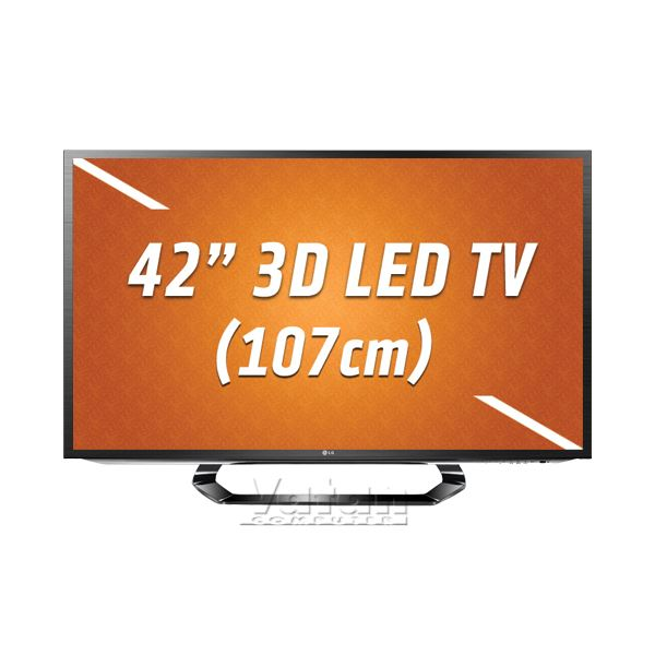 42LM620S 107cm 3D SMART LED TV FULL HD, 400 HZ, DLNA, 4xHDMI, Dual Play, HD Uydu