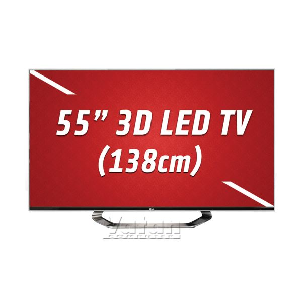 LG 55LM760S 3D LED CINEMA 138 cm FULL HD, 800 HZ,DLNA,4xHDMI,USB,Dual Play
