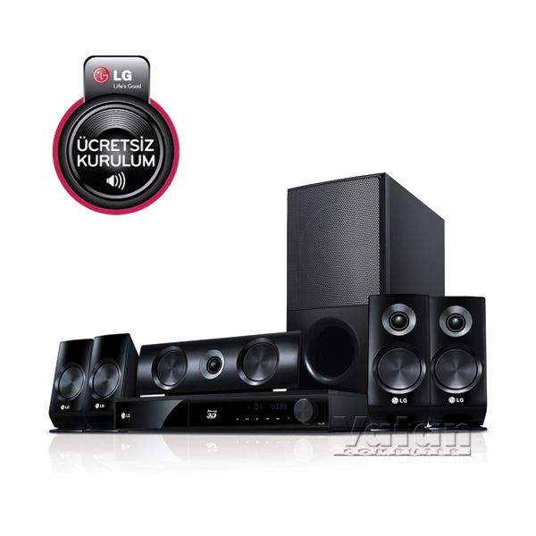 LG HB1100MK FULL HD 3D BLURAY DVD EV SİNEMA SİSTEMİ, 1100 W, 5+1, USB, HDMI, MKV
