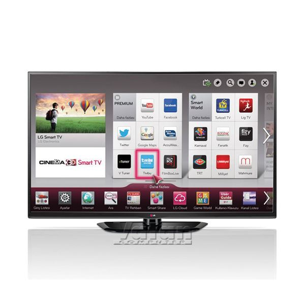 LG 50PH670S 50'' 127 Cm FULL HD 3D SMART PLAZMA TV , 600HZ ,