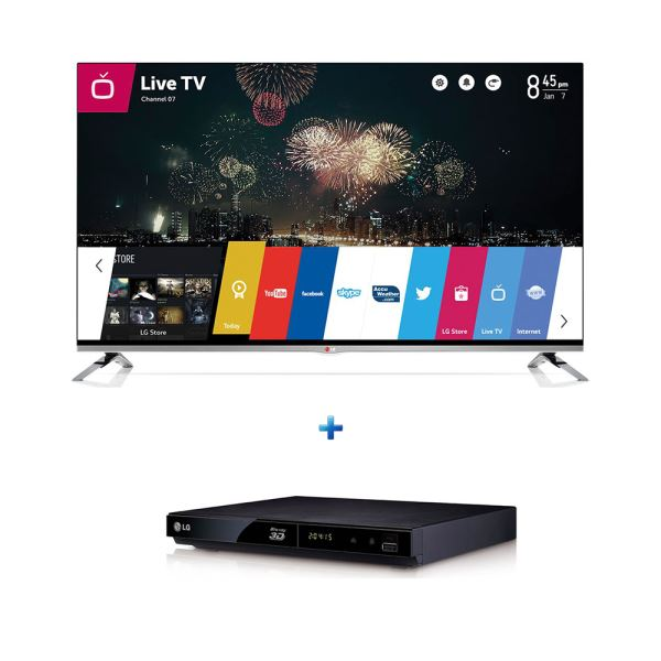 LG 47LB670V TV + LG BP325 BLURAY BUNDLE KAMPANYASI