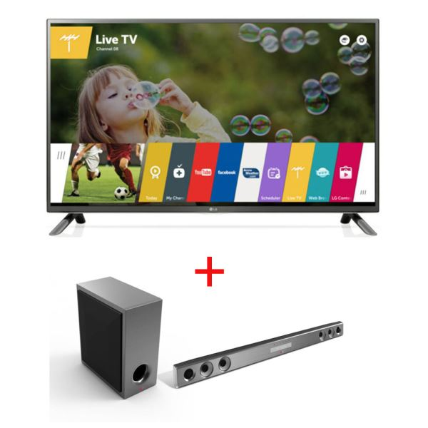 LG 50LF650V TV + NB3531A SOUNDBAR KAMPANYASI