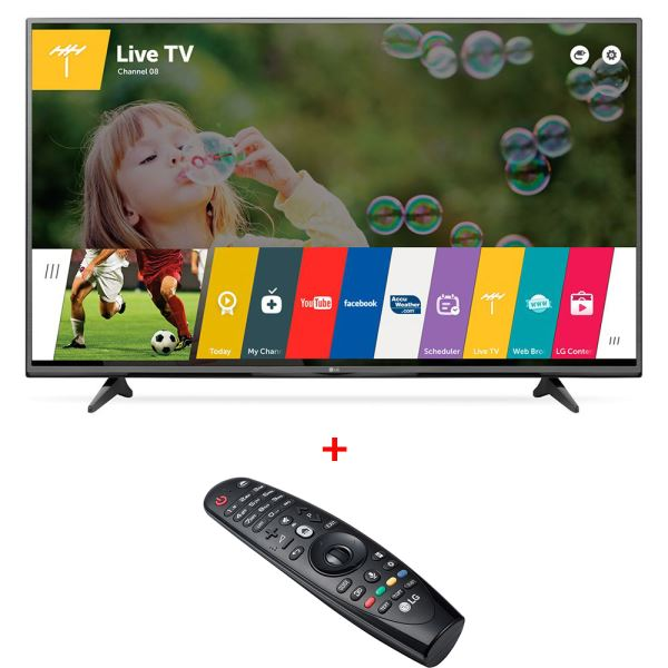 LG 43UF6807  ULTRA HD LED TV + AN-MR600 Sihirli Kumanda Bundle Kampanyası