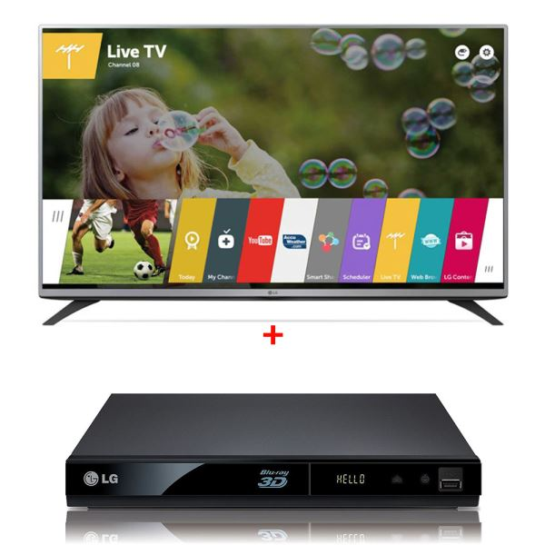 LG 50LF650V TV + LG BP325 3D BLU-RAY DVD PLAYER Bundle Kampanyası