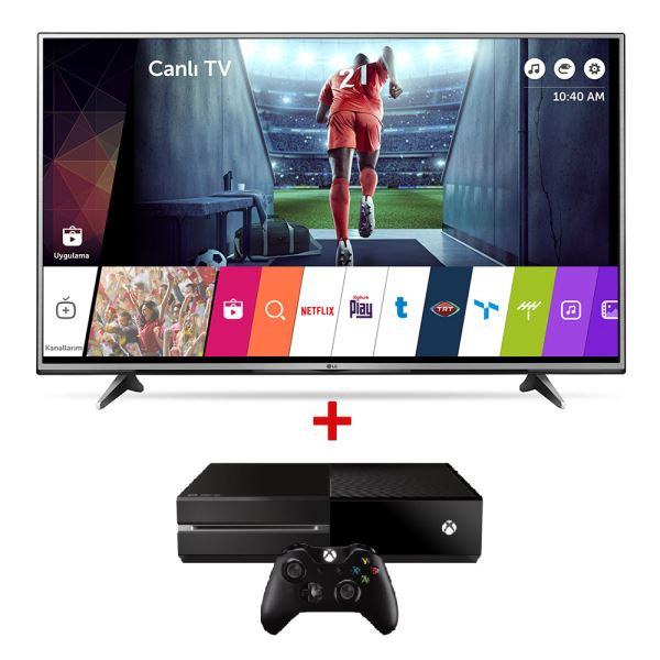 LG 55UH615V 4K UHD Smart LED TV + MICROSOFT XBOX 360 Bundle Kampanyası
