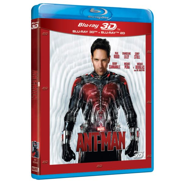 Ant-Man 3D Blu-Ray Film