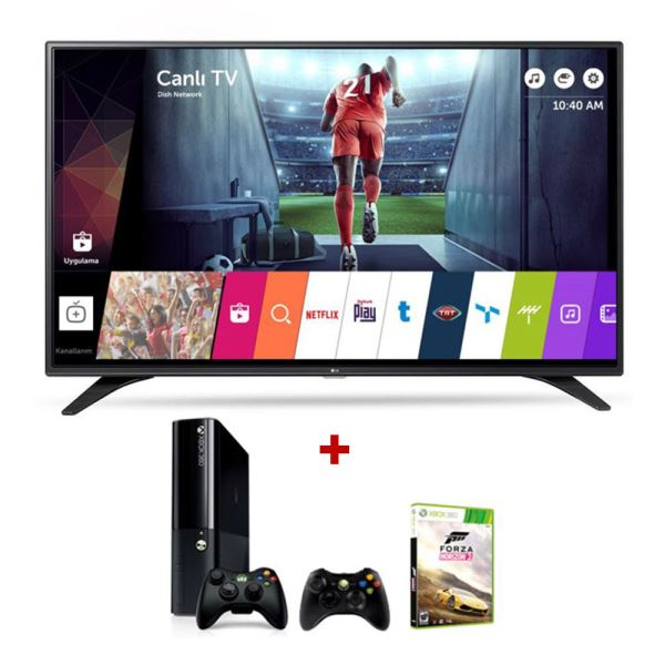 LG 49LH604V 49'' (123CM) SMART LED TV + MICROSOFT XBOX 360 BUNDLE KAMPANYASI