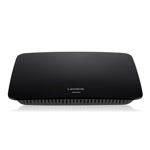 LINKSYS SE2800 GIGABIT 8 PORT SWITCH