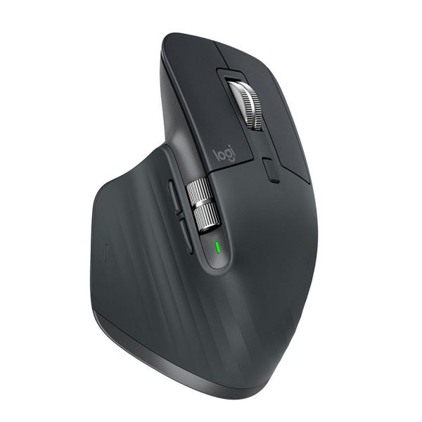 LOGITECH MX MASTER 3 WIRELESS MOUSE GRAPHITE