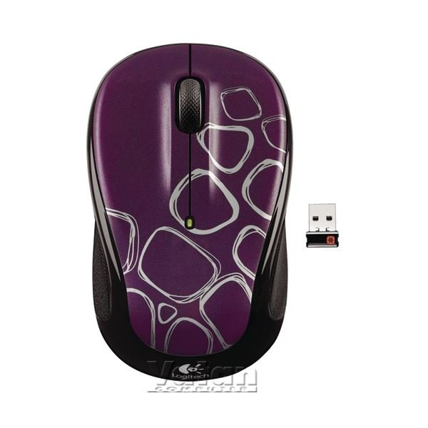 M325 UNIFYING WIRELESS OPTICAL NB MOUSE (PURPLE BOULDER)