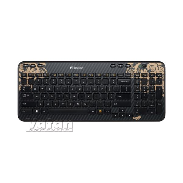 K360 UNIFYING WIRELESS KEYBOARD (VICTORIAN WALLPAPER)