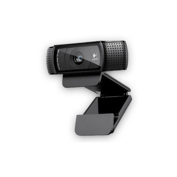 LOGITECH C920 FULL HD 1080p 15MP CARL ZEISS WEBCAM
