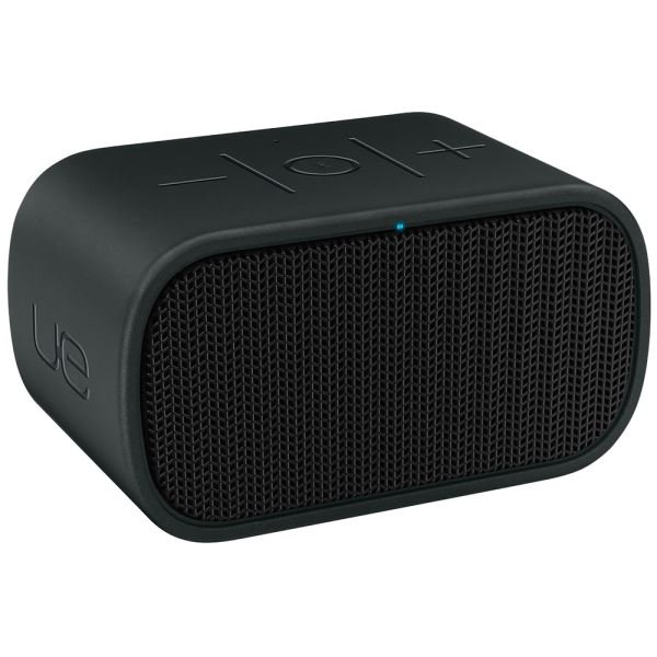 LOGITECH UE MINI BOOM WIRELESS BLUETOOH SPEAKER (BLACK & BLACK)