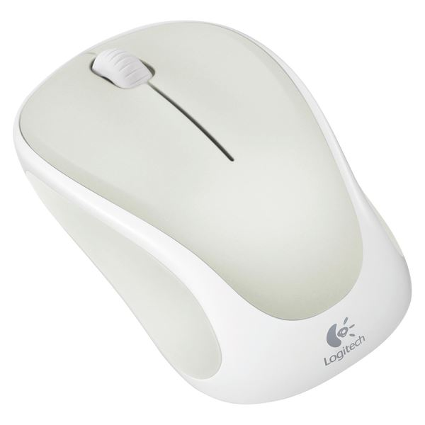 LOGITECH M317 WIRELESS MOUSE (WHITE)