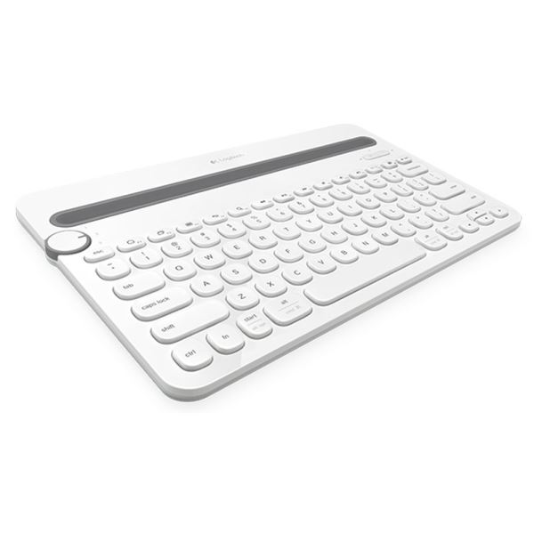 LOGITECH K480 BLUETOOTH KEYBOARD (WHITE)