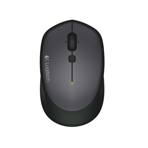 LOGITECH M335 WIRELESS BLACK MOUSE