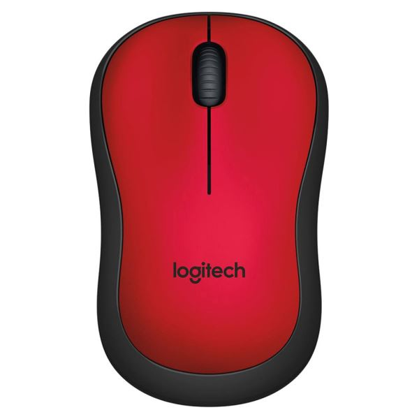 LOGITECH M220 SESSIZ MOUSE RED
