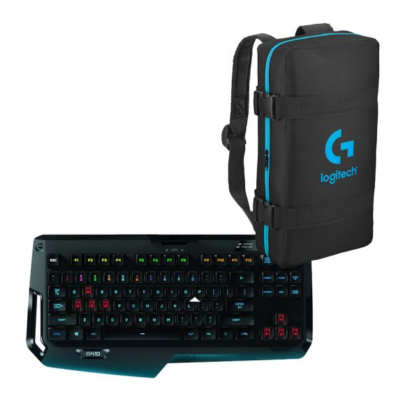 LOGITECH G410 ATLAS SPECTRUM TR KEYBOARD + GAMING CANTA