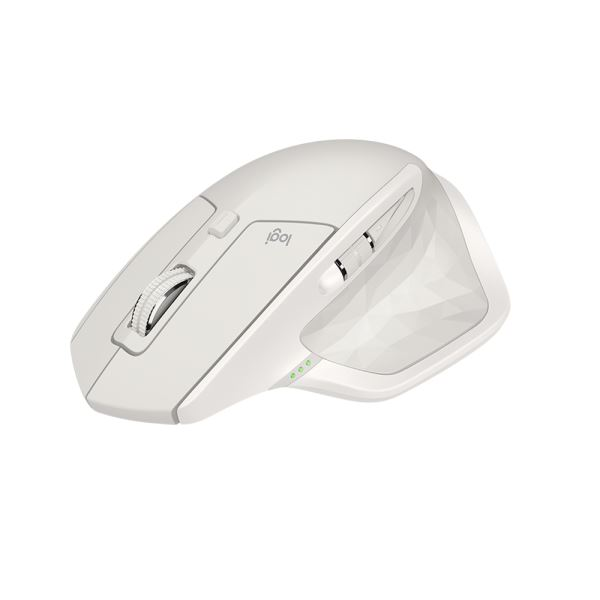 LOGITECH MX MASTER 2S FLOW MOUSE LIGHT GREY