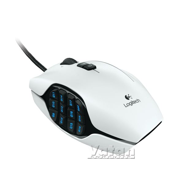 G600 MMO GAMING MOUSE (WHITE)