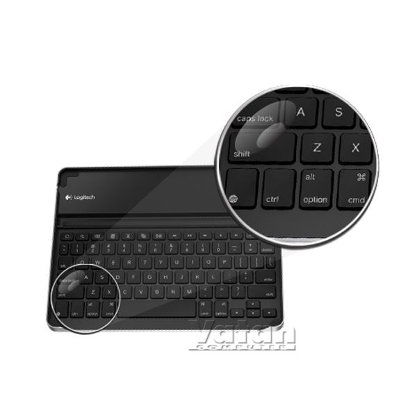 LOGITECH KEYBOARD CASE FOR IPAD - TR LAYOUT