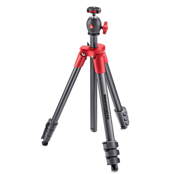 MANFROTTO MK COMPACT LİGHT TRİPOD(KIRMIZI)