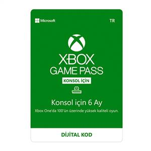 MICROSOFT XBOX GAME PASS (6 AY)