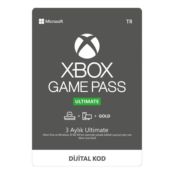 XBOX GAME PASS ULTIMATE ( 3 AY )