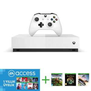 MICROSOFT XBOX ONE S 1 TB ALL DIGITAL EDT. (SEA OF THIEVES, FORZA, MINECRAFT)