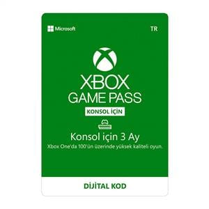 MICROSOFT XBOX GAME PASS (3 AY)