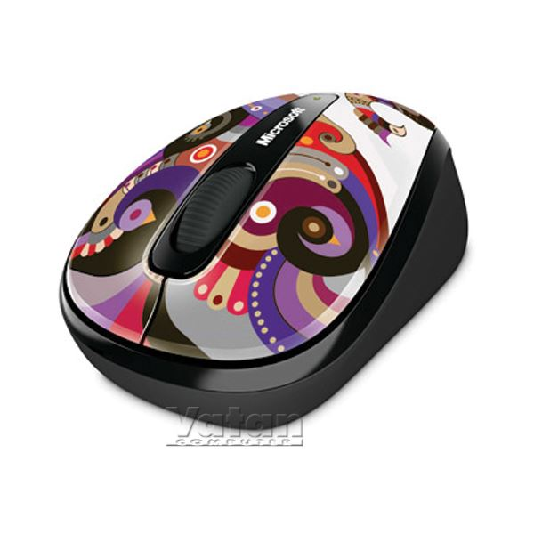 MICROSOFT Wireless Mobile Mouse 3500 ARTIST CHAMERELLI