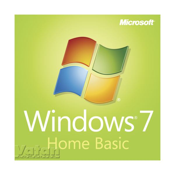 OEM Windows 7 Home Basic  64-bit Türkçe - DVD