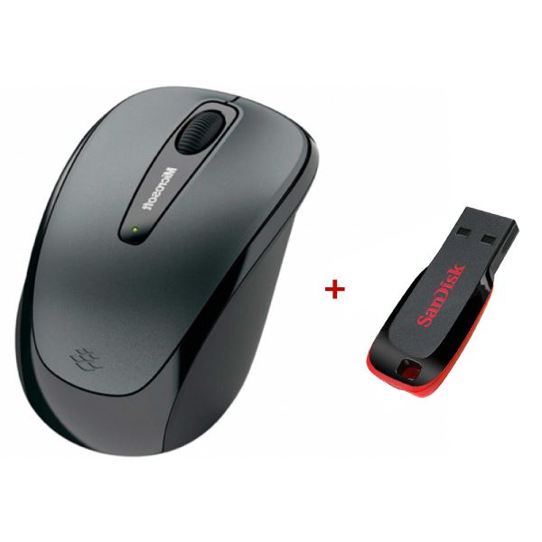 MICROSOFT Wireless Mobile Mouse 3500 (Sandisk 8GB USB Bellek Hediyeli)